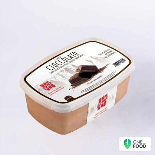 Schokolade Eisbecher
